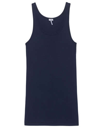Schmales Tanktop  // One And One Navy