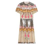 Verziertes Kleid aus Seidenspitze  // Farewell Mini Gold Mix