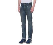 Slim-Fit Jeans im Vintage Look  // Dark Demon