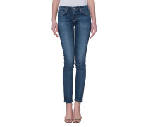 Knöchellange Skinny Jeans  // The Stilt 11 Years