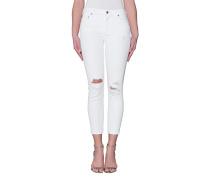 Destroyed-Skinny Jeans  // Rocket Crop High Distressed Milos
