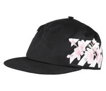 Snapback-Kappe mit floralem Print  // Diag Cherry Flowers Black