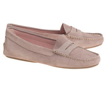 Veloursleder-Loafers  // Zahara Rose
