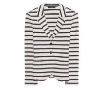 Gestreifter Baumwoll-Blazer  // Urban Stripe Beige