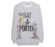 Oversize-Sweatshirt mit Print  // Capsule Rat á Porter Grey