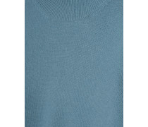 Kaschmir-Pullover mit Stehkragen