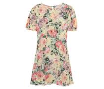 Florales Mini-Kleid