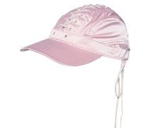 Baseball-Cap mit Schnürung  // Lace-Up Silver Pink/Vanilla Ice