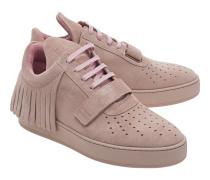 Sneakers aus Veloursleder  // Low Top Caribo Pastel Pink