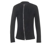 Jacke aus Nubukleder  // Soft Nubuc Black