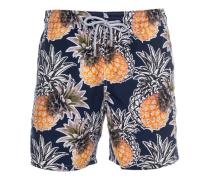 Badehose mit Print  // Pineapple Blue