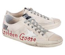 Canvas-Sneakers mit Print  // V-Star Cream Canvas