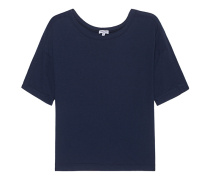 Lockeres Jersey-T-Shirt  // Very Light Jersey Boxy Tee Navy