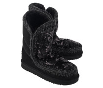 Schafsleder Stiefel  // Eskimo 24 Sequins On Black