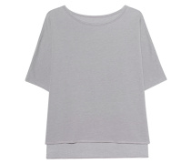 Jersey-Sweatshirt  // Sweat Cape Pearl Grey