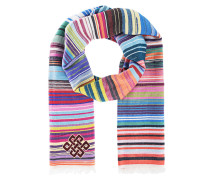 Mehrfarbig gewebter Kaschmir-Schal  // Square Sherpa Multicolor