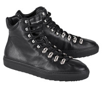 High-Top Glattleder-Sneakers  // Sneaker Whistler Nero