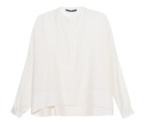 Silky Oversize Off-White