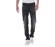 Destroyed Slim-Fit-Jeans  // Slim Jean Anthra