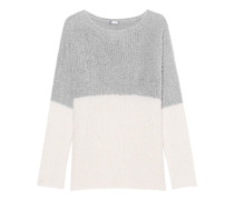 Bubble Knit Cream Grey