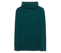 Kaschmir-Rollkragenpullover  // Ripped Oversize Emerald