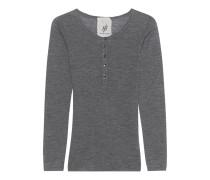 Shirt Attender Henley Medium Grey Melange