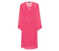 Plissiertes Kleid  // Fish Eye Pattern Pink