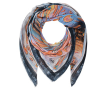 Gemusterter Modal-Schal  // Scarf Masiar Big Stretched Paisley Multi