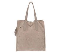 Veloursleder-Tasche