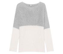 Bubble Knit Cream Grey