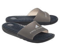 Massage-Badeslipper  // Adissage Core Black/White