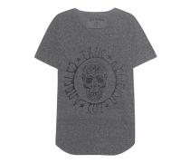 Skull Print Jet Black