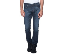 Schmale Jeans im Washed-Out-Look  // The Matchbox Slim Sraight