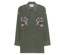 Besticktes Utility-Hemd  // Eagle Embroidery Military