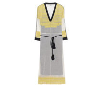 Knielanges Baumwoll-Kleid  // Tunic Passing Yellow