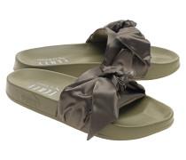 Slides mit Satinschleife  // Bow Slide Olive Branch