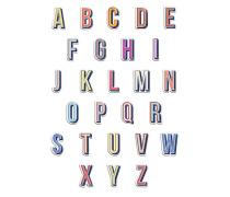 Leder-Sticker  // Alphabet Stick Me A-Z