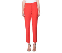 Woll-Mix-Business-Hose  // Panelled Orange