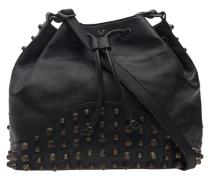 Leder-Bucketbag  // Bucket Studs Black