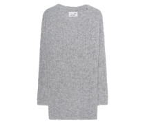Grobstrick-Pullover  // Bubble Knit Light Grey