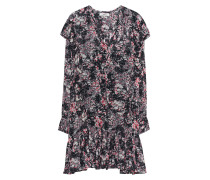 Gemustertes Kleid mit Volants  // Jedy Red Multi
