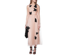 Kleid mit Schmuckstein Details