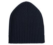 Mütze aus Feinstrick  // Berretto Blu Navy