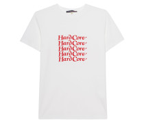 Baumwoll-T-Shirt mit Schriftzug