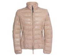 Steppjacke aus Leder  // Jodie Leather Cappuccino