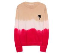Kaschmir-Pullover mit Farbverlauf  // Palm Tree Multicolor