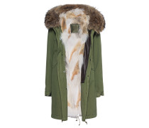 Parka mit Fellfutter  // Army Parka Patch Coyote