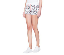 Baumwoll-Mix Shorts mit Print  // Short Sweat Leo Apricot