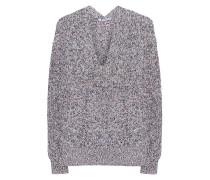 Gemusterter Grobstrick-Pullover  // V-Neck Multi Knit