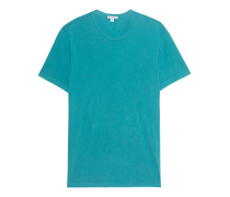 Baumwoll-T-Shirt  // Short Sleeve Crew Neck Turquoise